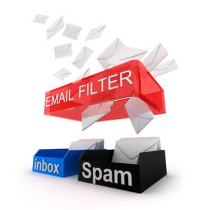 E-Mail Filter inbox und Spam
